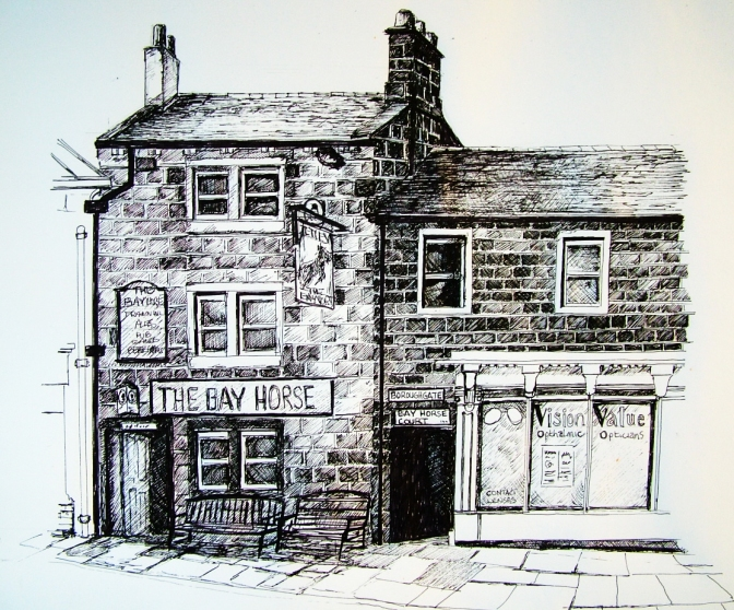 The Bay Horse Pub, Otley West Yorkshire